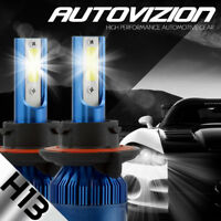 AUTOVIZION LED HID Headlight kit white H13 9008 6000K for 2011-2012 Ram 4500
