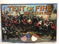 New Sealed Test of Fire Bull Run 1861 Mayfair Games- maker of Catan series 4861