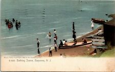 Postcard NJ Bayonne Bathing Scene Publ. The Rotograph Co. No. G6600 1907 M30