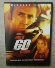 Gone in 60 Seconds (Dvd, 2000) Great Condition No Scratches Nicolas Cage