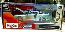 Maisto CUSTOM SHOP FORD MUSTANG GREEN 1:24 Scale Diecast