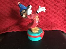 Grolier Disney Christmas Ornament Decoration Collectable, 'Mickey Mouse Sorcerer