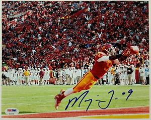 MARQISE LEE Signed 8x10 Photo #3 Auto USC Trojans Jaguars w/ PSA/DNA COA