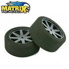 MATRIX TIRES KYOSHO CARBON COPPIA GOMME ANTERIORI SH 32 SCALA 1/10 10A32KC