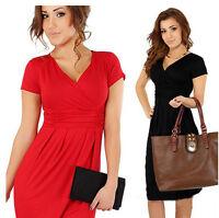 Pregnant Women Maternity Short Sleeve Casual Dress Bodycon Cotton Summer Clothes
