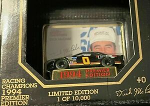 Dick McCabe #0 1994 Premier Edition Racing Champions 1:64 Scale 1 of 10,000  New