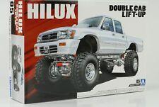 1992 Toyota Hilux Pick up Double Cab 4WD Lift up Kit Kit 1:24 Aoshima