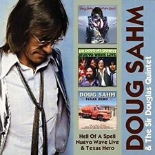 Doug Sahm & Sir Doug - Hell of a Spell/ Nuevo Wave Live/ Texas Hero [New CD]