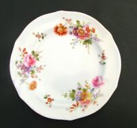 "Royal Crown Derby Derby Posies Dessert Plate 7 1/4"" Ely Chelsea Pie Plate A228"