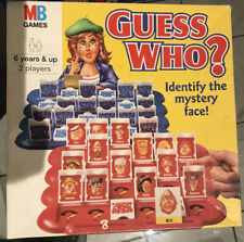 VINTAGE MB GAMES 1996 GUESS WHO?