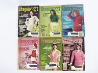 The Workbasket Magazine Lot of 6 Issues 1979 Feb May July Aug Oct Dec Patterns