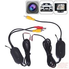 2.4Ghz Wireless Rear View Video Transmitter & Receiver For Car Camera Monitor