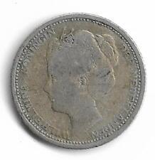 Netherlands Queen Wilhelmina 10 Cents Silver Coin 1906 -- MUST L@@K!