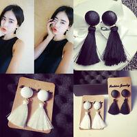 Women Boho Drop Dangle Fringe Earring Vintage Ethnic Statement Tassel Earrings