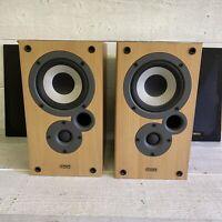 DENON MISSION 2 Way Reflex 20-50 Watts 6 Ohms Pair Shelf Hi Fi Speakers SC-M10K