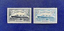 France 1934 *** Le Normandie *** Y&T N°s 299 & 300 *** Neufs Sans Charnière