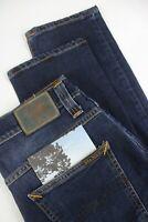 UVP $145 Nudie Jeans Düster Tim Crosshatch Abgenutzt IN Herren W32/L32 2125_ MM