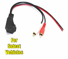 Bluetooth A2DP Wireless Streaming 12V to Car Stereo Radio RCA Aux Input Adapter