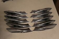 "2013 2014 2015 GM Cadillac XTS 19"" Chrome Wheel Inserts 22779689 R &  L , SET-10"