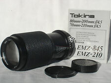 NIKON AI (AI-S) fit  RMC TOKINA EMZ  70-210mm F 4.5  lens w. Macro
