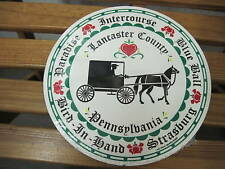 """8"""" PA Dutch Hex Sign-Counties: Intercourse, Blue Ball, etc. H-36 Made In The USA"""