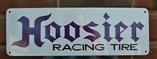 HOOSIER RACING TIRE SHOP SIGN HIGH PERFORMACE LOGO MECHANIC SIGN 7DAY
