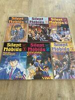 Silent Mobius Lot - *6 Books* #1-5 - Viz Comics Manga Part 1