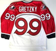 WAYNE GRETZKY 1998 NAGANO OLYMPICS TEAM CANADA AUTHENTIC NIKE WHITE JERSEY 48