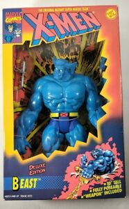 "ToyBiz Beast X-Men Deluxe Edition Marvel 10"" Action Figure 1994 Open Box C"