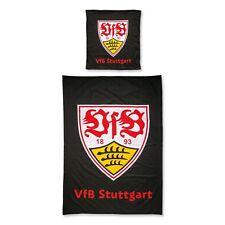 VfB Stuttgart Bettwäsche Wappen schwarz 18078 mit Reißverschluß 135x200cm