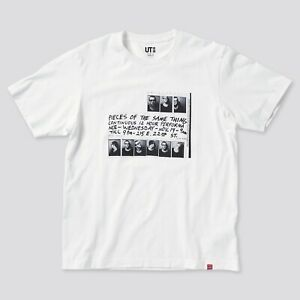 Uniqlo Keith Haring T Shirt Size Large Mens White Limited Edition Brand New