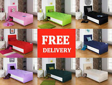 Single Divan Bed With Mattress, Storage single base 3ft 3 ft childrens or adults