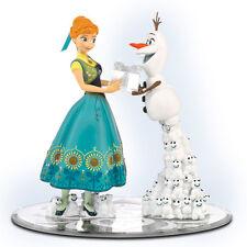 Anna's Birthday Surprice  Frozen Figurine - Bradford Exchange Disney's