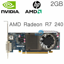 HP 742920-001 AMD Radeon R7 240 HD 8570 Graphics Video Card 2GB DDR3 DVI HDMI