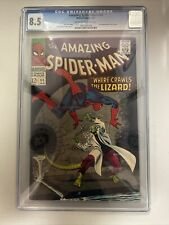 Amazing Spider-Man 44 CGC 8.5 2nd Lizard