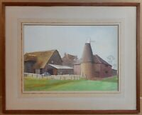 Tottington Farm Aylesford. Watercolour by listed artist Alfred Percy Friend 1928