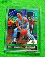 MARKUS HOWARD GREEN PRIZM ROOKIE CARD JERSEY #0 MARQUETTE RC NUGGETS 2020 PANINI