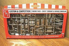 AMT CUSTOM & COMPETITION ENGINE PACK / Chevy Corvair & Vintage Chrysler