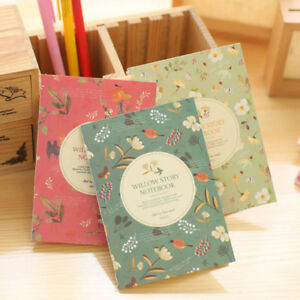 Willow Story Mini Notebook Small Memo Pad Lined Jotter Pocket Note Shopping C243