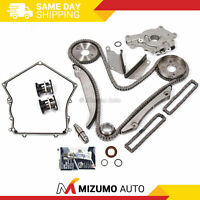 Timing Chain Kit Oil Pump Timing Cover Gasket Fit 02-06 Dodge Chrysler 300 2.7