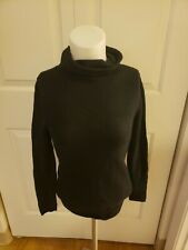 Old Navy Women's Cashmere Turtleneck Cowl Neck Black Small/Extra Small