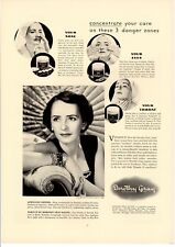 Vintage Print ad 1937 Fashion Beauty Dorothy Gray Skin Care Cartier Jewels USL