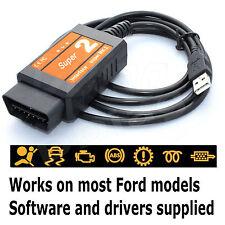 Foco Super OBD Diagnóstico Escáner Herramienta Lector De Código De USB Cable de interfaz Reino Unido