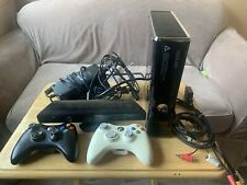New listing Microsoft Xbox 360 Console W/ 2 Controller & Cables And Kinect