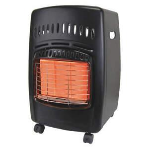 DYNA-GLO RA18LPDG Radiant Prtble Gas Flr Heatr,LP,600sqft