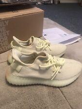 Auténticos Adidas Yeezy Boost 350 V2 Mantequilla Talla 9 Navidad Plus Recibos