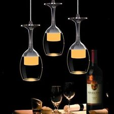 3* New Wine Glass Design LED Lighting Ceiling Lamp Bar Lamp Dining Room Pendant
