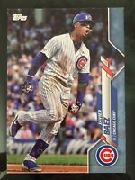 JAVIER BAEZ 2020 Topps Series One #300 BLUE PARALLEL 25/50 - Chicago Cubs