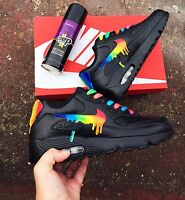 Rainbow Drippy Nike Air Max 90
