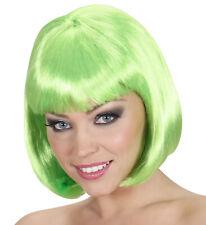 Onorevoli Lunghezza Spalla Neon Viola Parrucca /& Frangia Lady Gaga Cyber FANCY DRESS